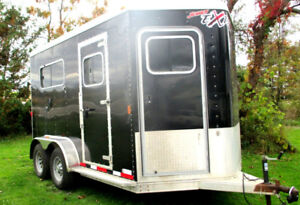 2012 Exiss 2 horse Straight Load Warm Blood - 7'8 Tall