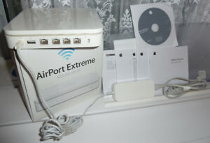 AirPort Extreme 802.11n A1301 Base Station router MAC+PC (2009)