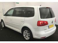 2014 VW TOURAN 1.6 TDI 105 BMT SE GOOD / BAD CREDIT CAR FINANCE AVAILABLE