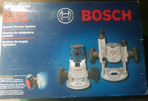 Brand new bosch MRC23evsk electronic modular router system