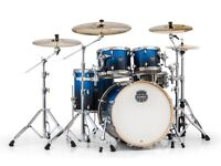 Mapex armory five piece with hardware stool and pedals