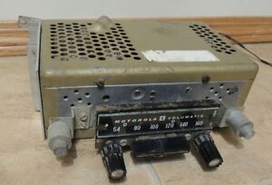 Rare Vintage Circa Late 1950's Motorola Volumatic 6TAS8