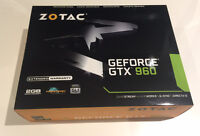 Gaming Video Card - Zotac Geforce GTX 960 - Carte Graphique