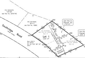 SOUTHRIDGE ROAD, ROTHESAY. TREED LOT READY FOR YOUR HOME!