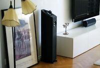 Mirage Omni 350 Black 350B Tower Floorstanding Speakers NEW