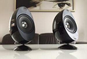 KEF Model HTS3001 SE Egg-Shaped Speakers Brand New