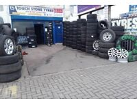 Tyre shop 225/55/16 215/60/16 185/60/16 215/75/16 235/60/16 NEW & USED PARTWORN TYRES FITTED