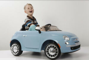 Mini Cooper or Fiat 500 Battery operated Ride On Car toys