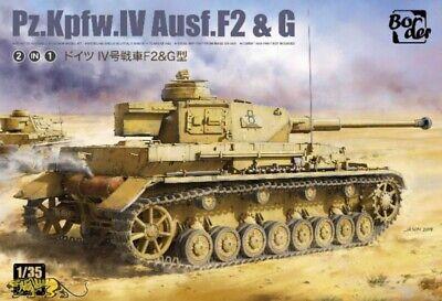 Border Model BT-004 Panzerkampfwagen IV Ausf. F2 & G - 1:35