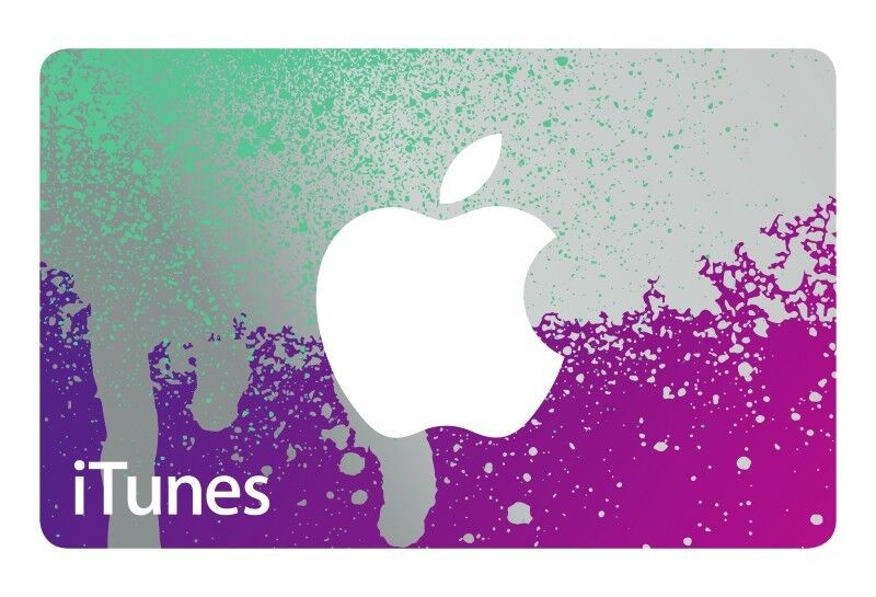 iTunes® Gift Card $25 $50 $100 - mail delivery