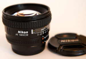 NIKON NIKKOR AF20mm 2.8D Lens from Japan