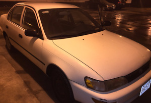Selling 1994 Toyota Corolla DX