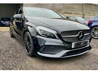2017 Mercedes-Benz A Class 1.5 A180d AMG Line (Premium) 7G-DCT (s/s) 5dr Hatchba
