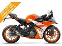 2017 KTM RC 125 ORANGE, BRAND NEW!