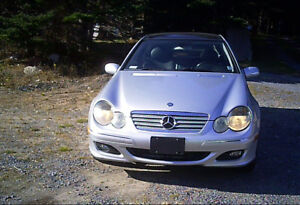 Mercedes-Benz C230  Coupe With Low Kilometers
