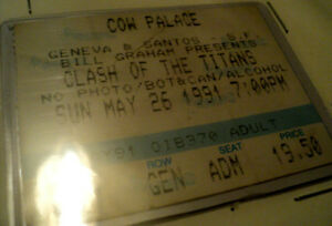 MEGADETH .SLAYER.ANTHRAX.ALICE IN CHAINS