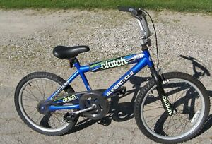 "Supercycle CLUTCH  BMX style bike with 20"" tires"