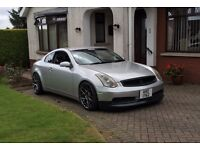 2005 Nissan skyline 350GT manual (evo Impreza focus st type r 350z)