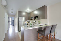 Incredible St-Henri condo, 2 bed + office - 2 balconies!