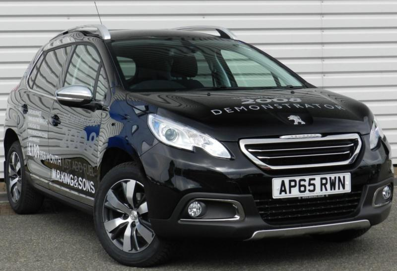 peugeot 2008 allure 1 6bluehdi manual 5 door crossover black 2016 in saxmundham suffolk gumtree. Black Bedroom Furniture Sets. Home Design Ideas