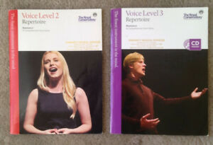 Royal Conservatory of Music Voice Level 2 & Level 3  Repertoire