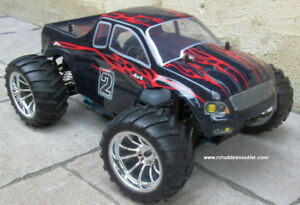 New Nitro RC Truck HSP 1/10 Scale 2.4G  4WD 1 Year Warranty
