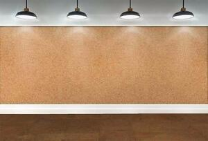 Forna DIY Brown Leather Cork Flooring Floating Easy to install Add Comfort and Style,making your home warmer in winter