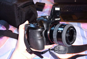 Sony Alpha SLT-A57 DSLR Camera