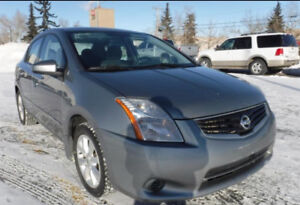 2010 Nissan Sentra with remote starter