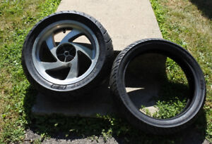 New!! Goldwing Front & Rear tires and OEM Rear Rim