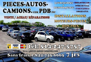 Transmission Cadillac SRX 2011 AT 6 vit 3.0L FWD 514-247-5757