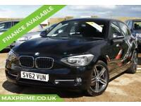 BMW 1 SERIES 1.6 114I SPORT 5D 100 BHP FULL SERVICE HISTORY + VERY LOW MILES