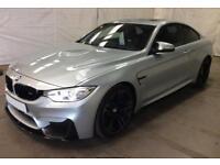 2015 BLUE BMW M4 3.0 T 425 BHP DCT PETROL AUTO 2DR COUPE CAR FINANCE FR £125PW