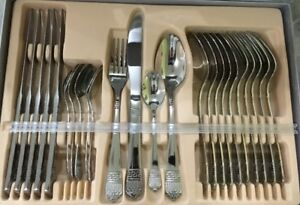 Brand new Carl Weill 24 piece flatware set is on sale for $49.95