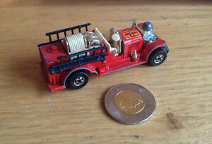 Hot Wheels 'Old Number 5' fire truck