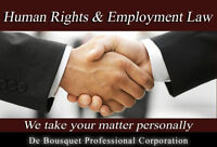 Employment and Human Rights Lawyer, Rated #1 by LawyerRatingz