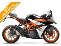 2018 KTM RC 390 BLACK/WHITE, BRAND NEW!