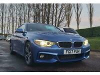 2017 BMW 4 Series 2.0 420D M SPORT GRAN COUPE 4d 188 BHP Auto Coupe Diesel Autom