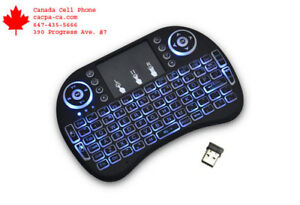 Back light Wirelsess Keyboard Remote for Android Box