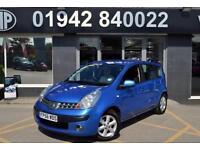 2007 56 NISSAN NOTE 1.6 SE 5D 109 BHP AUTOMATIC HATCH MPV, GENUINE PX,