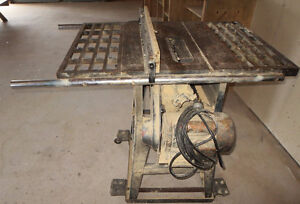 2 HP trademaster large table saw **great buy