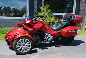 Trade or sell my Spyder for a mid size cruiser or sport tourer.