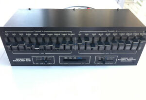 VINTAGE STEREO GRAPHIC EQUALIZER