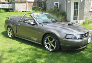2002 Ford Mustang Saleen Clone Convertible