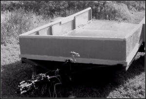 LARGE STEEL TRAILER - MINT CONDITION