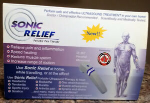 Used 'Sonic Relief Portable Pain Therapy' F/S