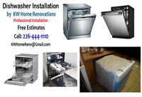 Dishwasher Installation- New or Replacing a defective Dishwasher