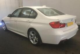 2015 WHITE BMW 320i 2.0 T M SPORT PETROL AUTO 4DR SALOON CAR FINANCE FR £67 PW