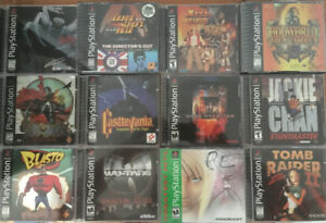 PlayStation 1 games (PSX PS1 Vintage Rare Sony)