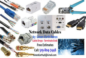Networks Data Cables Management - Residential & Commercial .....